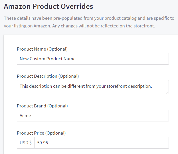 Selling On Amazon Bigcommerce Support