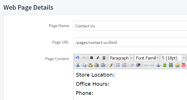 Creating A Contact Form