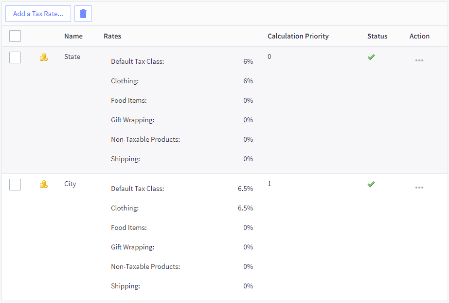 Setting Up Taxes Manually BigCommerce Support - Create an invoice uk online thrift store clothes