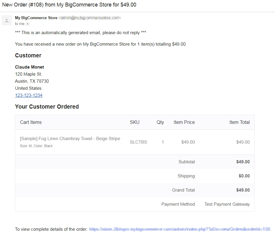 Order Notifications BigCommerce Support - What does invoice price mean verizon online store