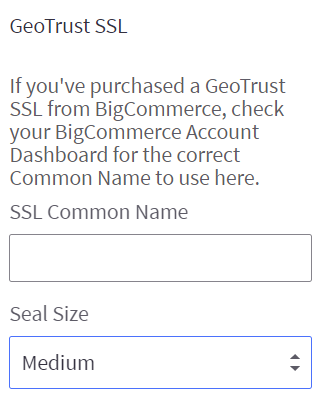 Adding a GeoTrust SSL Seal to Your Store's Footer
