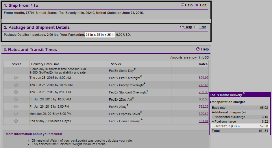 Basic Shipping | Troubleshooting Real Time Shipping Quotes