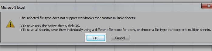 this file type is not supported