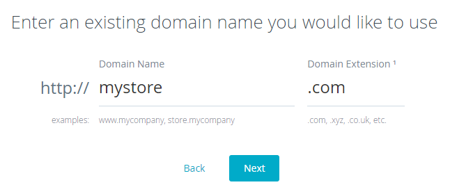 Changing Domains