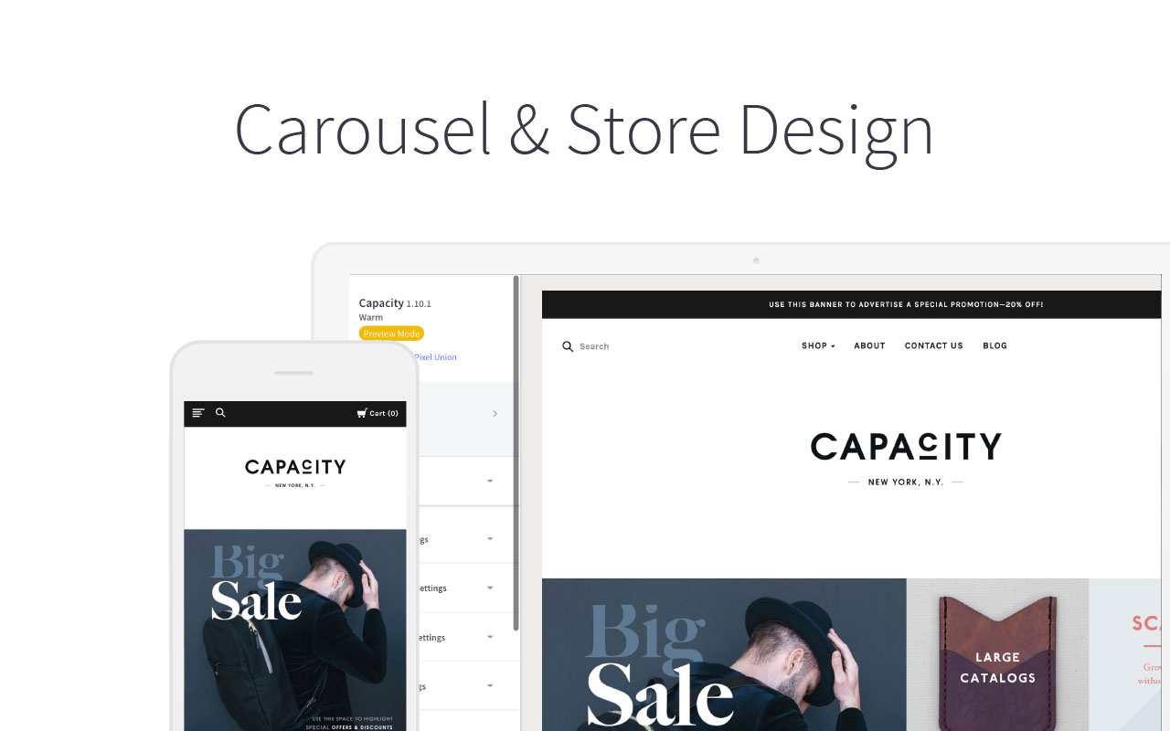 Carousel & Design Options