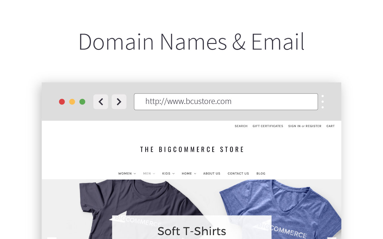 Domain Names and Email Hosting